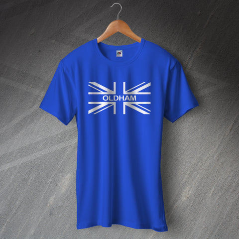Oldham Football T-Shirt Union Jack