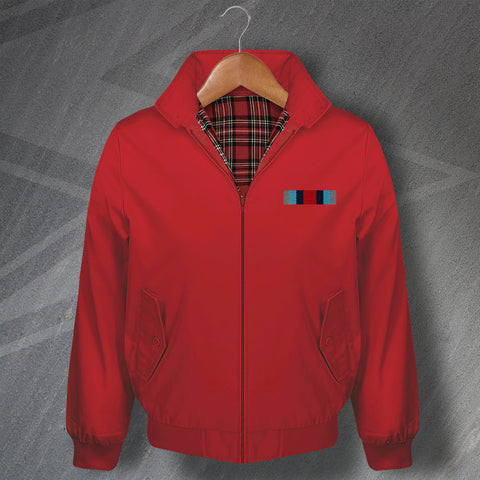 Op Shader Medal Bar Embroidered Classic Harrington Jacket