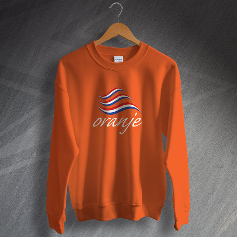 Netherlands Football Sweatshirt Oranje