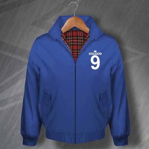 Osgood 9 Football Harrington Jacket Embroidered