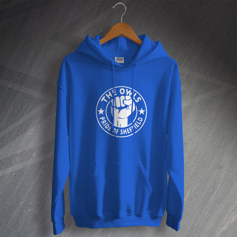 Sheffield Wednesday Football Hoodie The Owls Pride of Sheffield