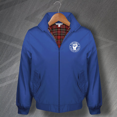 Sheffield Wednesday Football Harrington Jacket Embroidered The Owls Pride of Sheffield