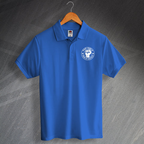 Sheffield Wednesday Football Polo Shirt Embroidered The Owls Pride of Sheffield