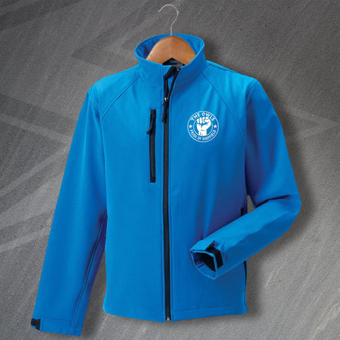 Sheffield Wednesday Football Jacket Embroidered Softshell The Owls Pride of Sheffield