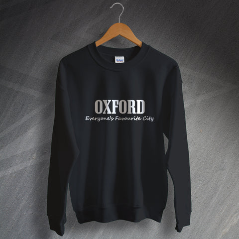 Oxford Sweatshirt Everyone's Favourite City
