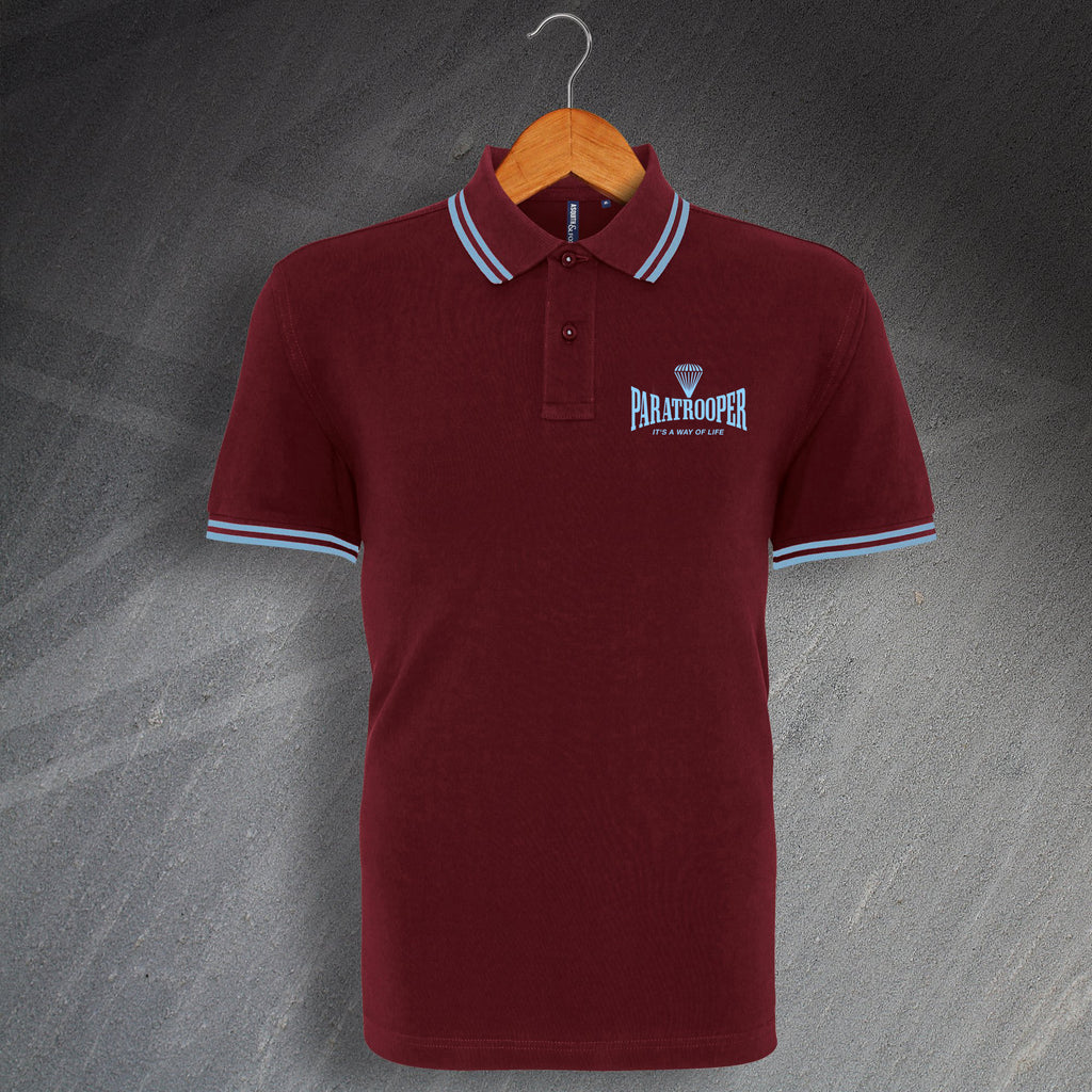 Paratrooper Polo Shirt
