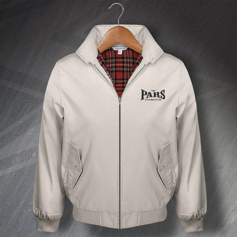 The Pars It's a Way of Life Embroidered Classic Harrington Jacket