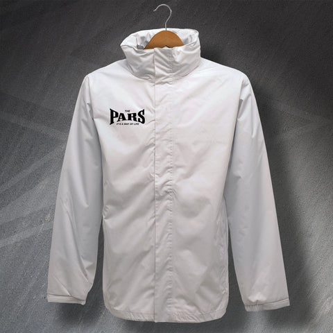 The Pars It's a Way of Life Embroidered Waterproof Jacket
