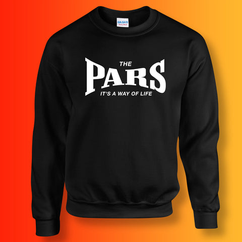 Pars Sweater with It's a Way of Life Design Black