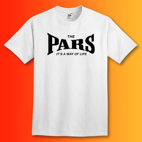 Pars Shirt with It's a Way of Life Design
