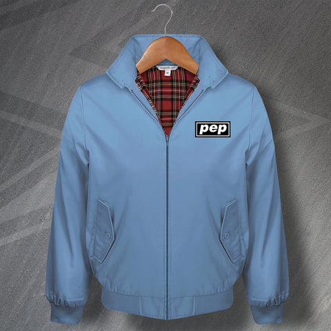 Manchester City Football Harrington Jacket Embroidered Pep