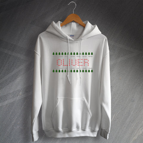 Christmas Hoodie Personalised Name or Word
