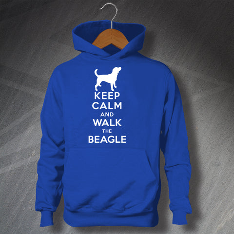 Personalised Keep Calm Unisex Children's Hoodie with any Dog Breed Name & Graphic
