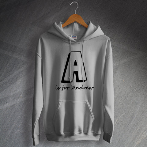 Hoodie for Men Personalised with Any Name & Initial