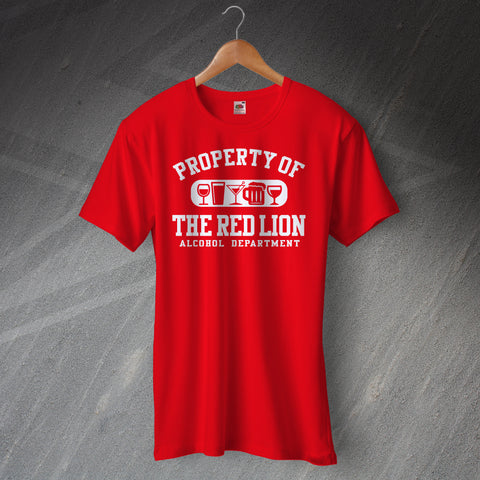 Personalised Property of The Pub Unisex T-Shirt with any Pub Name