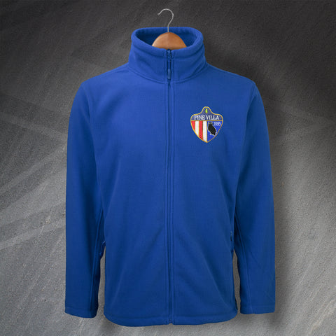 Oldham Football Fleece Embroidered Pine Villa