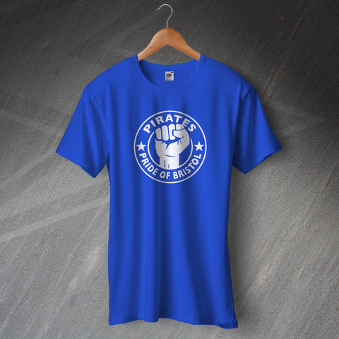 Bristol Rovers Football T-Shirt Pirates Pride of Bristol