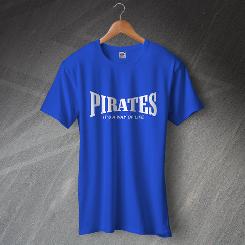 Bristol Rovers Football T-Shirt Pirates It's a Way of Life