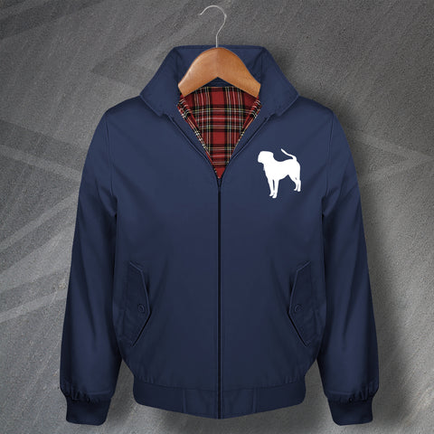 Pit Bull Embroidered Classic Harrington Jacket