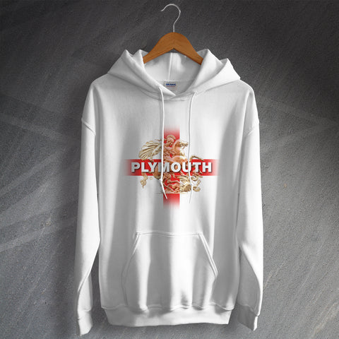 Plymouth Football Hoodie Saint George and The Dragon