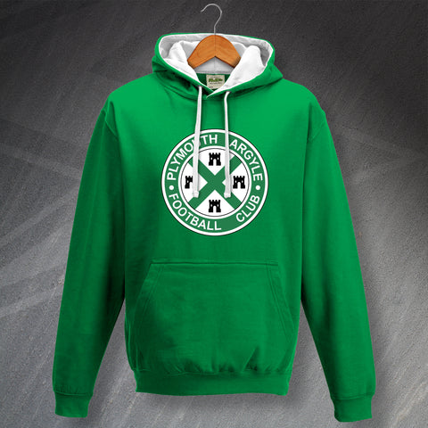 Plymouth Football Hoodie Contrast 1911