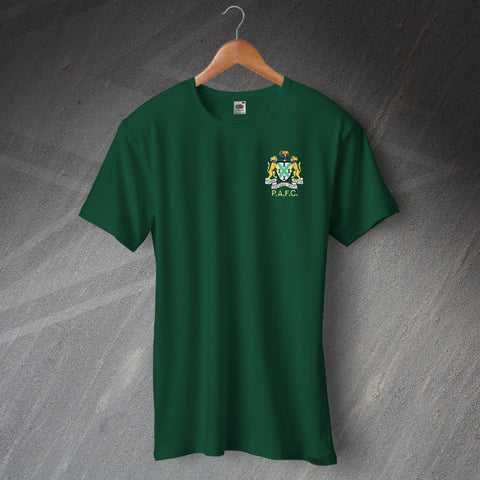 Plymouth Football T-Shirt Embroidered 1949