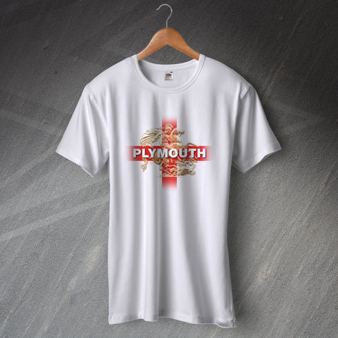 Plymouth Football T-Shirt Saint George and The Dragon