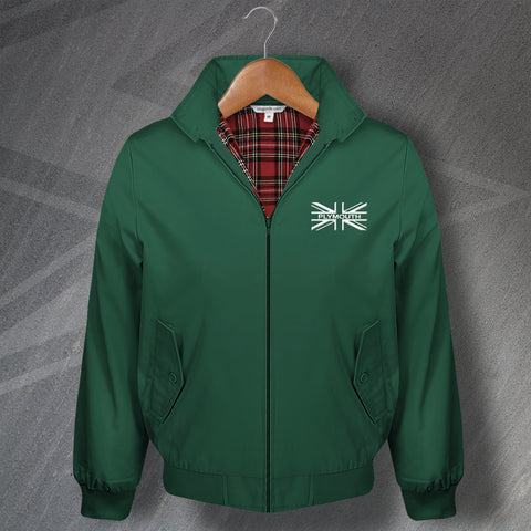 Plymouth Football Harrington Jacket Embroidered Union Jack