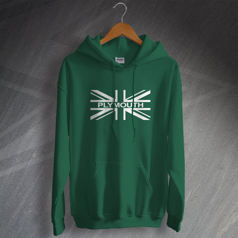 Plymouth Football Hoodie Union Jack