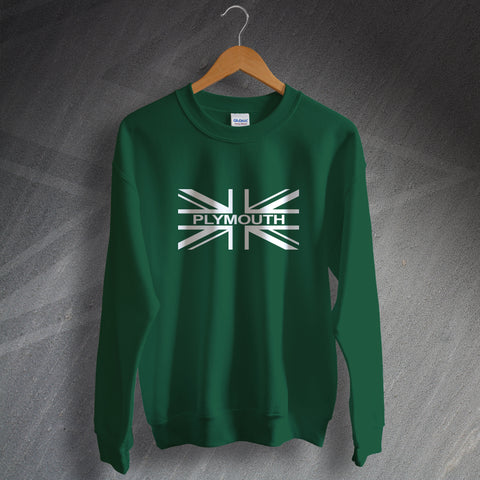 Plymouth Football Sweatshirt Union Jack