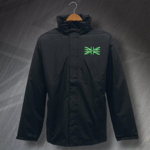Plymouth Jacket Embroidered Waterproof Union Jack