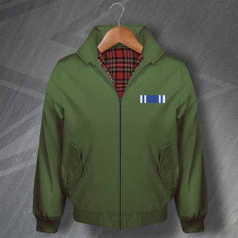 Police Long Service Medal Bar Harrington Jacket