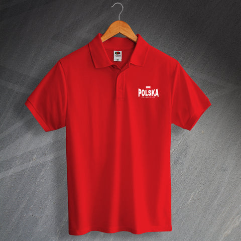 Polska It's a Way of Life Design Polo Shirt