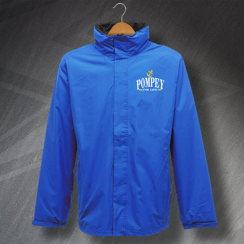 Portsmouth Football Jacket Embroidered Pompey for Life