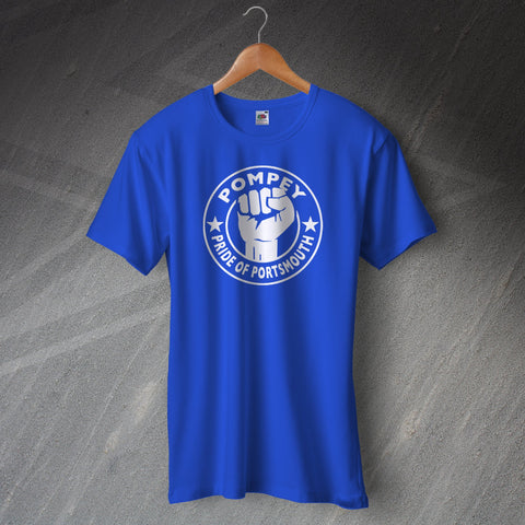 Portsmouth Football T-Shirt Pompey Pride of Portsmouth