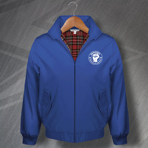 Porto Football Harrington Jacket Embroidered Dragoes Orgulho de Portugal