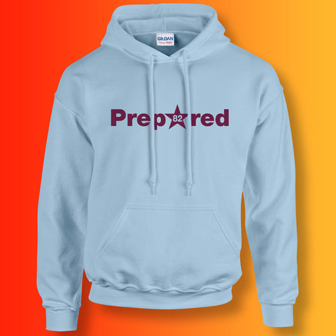 Prepared Hoodie Light Blue