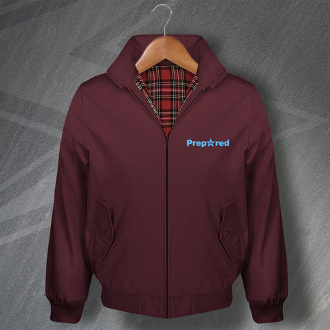 Villa Football Harrington Jacket Embroidered Prepared