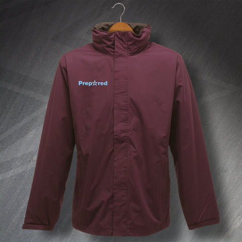 Prepared Embroidered Waterproof Jacket