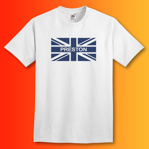 Preston Flag Shirt with Union Jack