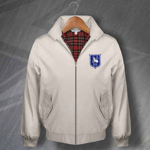 Preston Football Harrington Jacket Embroidered 1933