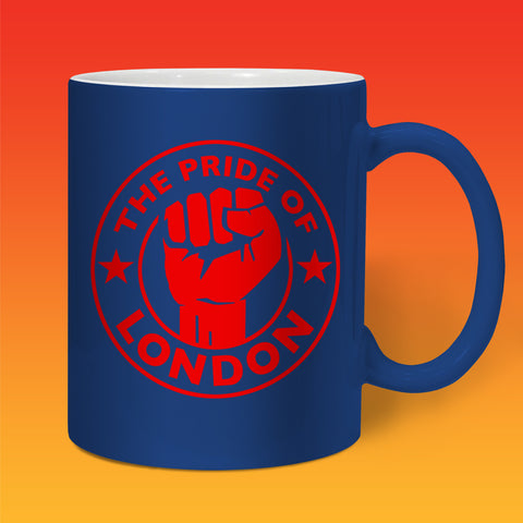 The Pride of London Mug Navy Red