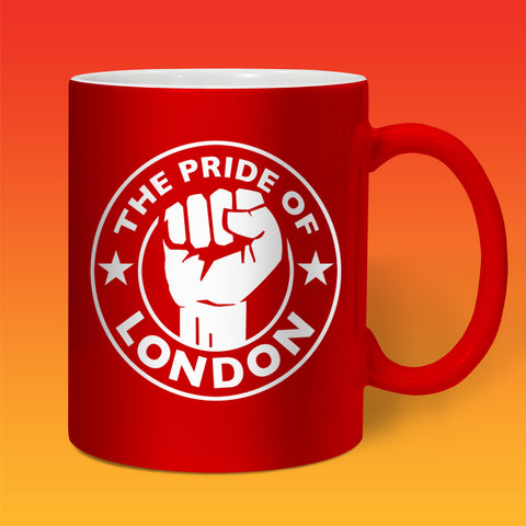 The Pride of London Mug Red White