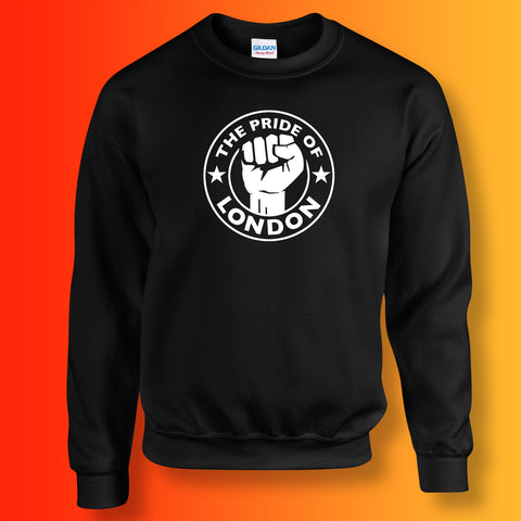 The Pride of London Sweater Black White