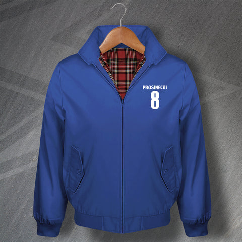 Prosinecki 8 Football Harrington Jacket Embroidered