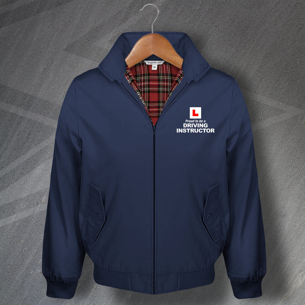 Proud to Be a Driving Instructor Harrington Jacket