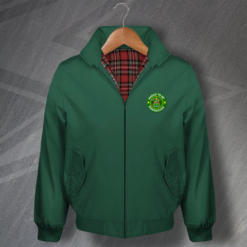 Rhodesia Harrington Jacket Embroidered Proud to Be Rhodesian