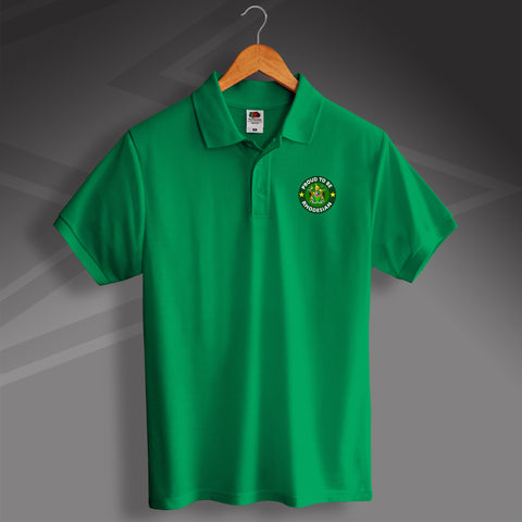 Rhodesia Polo Shirt Embroidered Proud to Be Rhodesian