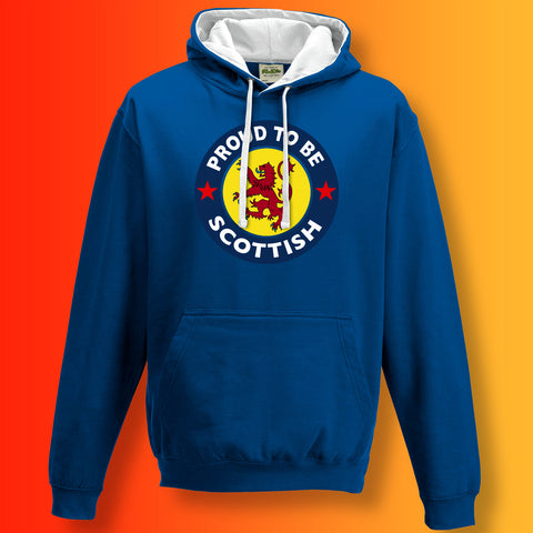 Proud to Be Scottish Unisex Contrast Hoodie
