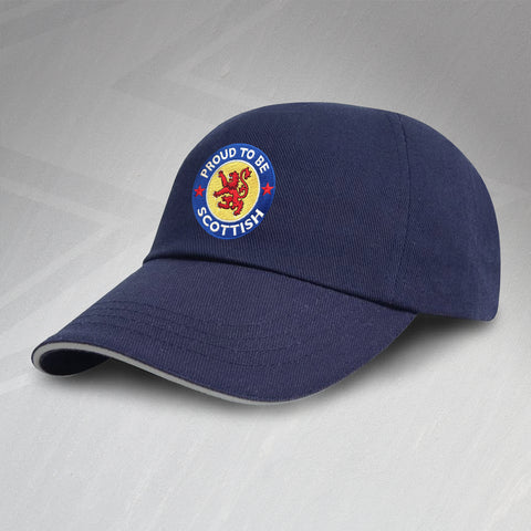 Proud to Be Scottish Embroidered Baseball Cap